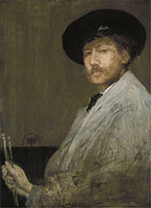 Arrangment in Gray Portrait of the Painter By James McNeill Whistler