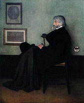 Arrangement in Gray and Black No 2 Portrait of Thomas Carlyle 1872 By James McNeill Whistler