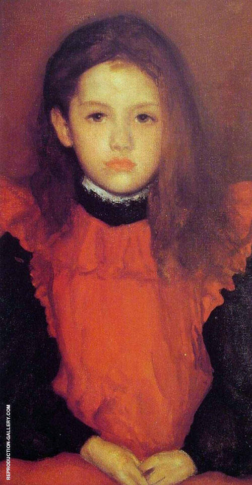 The Little Rose of Lyme Regis 1895 By James McNeill Whistler Replica Paintings on Canvas - Reproduction Gallery