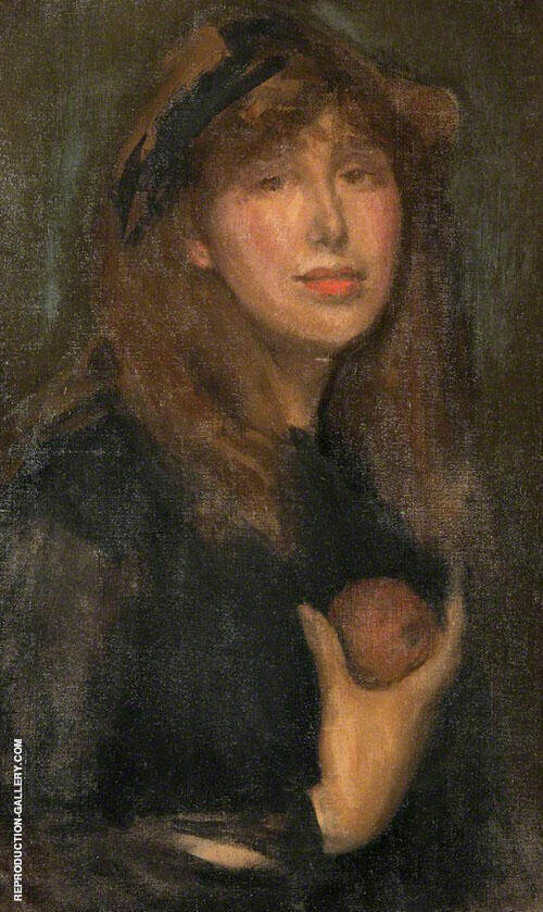 Dorothy Seton a Daughter of Eve 1903 Painting By James McNeill Whistler