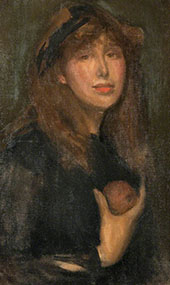 Dorothy Seton a Daughter of Eve 1903 By James McNeill Whistler