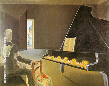 Reproduction of Evocation of Lenin 1931 by Salvador Dali | Oil Painting Replica On CanvasReproduction Gallery