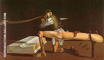 The Enigma of Wiliam Tell 1933 Painting By Salvador Dali
