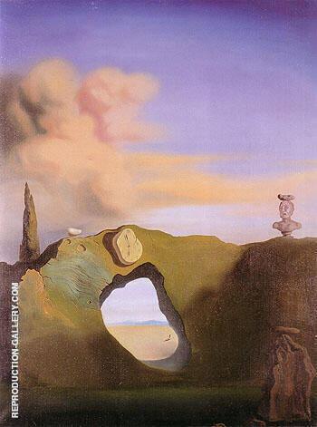 Triangular Hour 1933 By Salvador Dali
