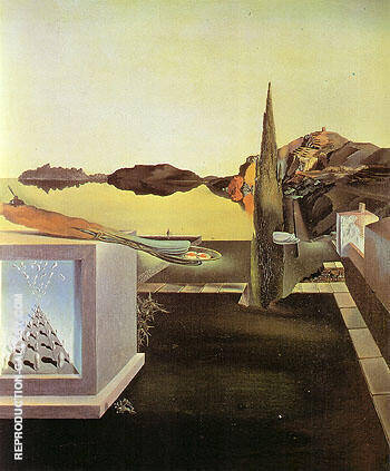 Reproduction of Surrealist Object indicative of Instaneons Memory 1932 by Salvador Dali | Oil Painting Replica On CanvasReproduction Gallery