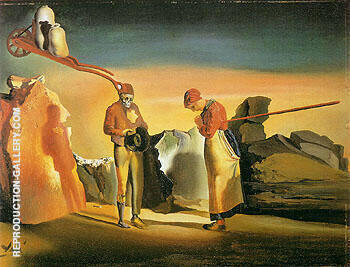 Ataviam of Twilight c1933-34 By Salvador Dali