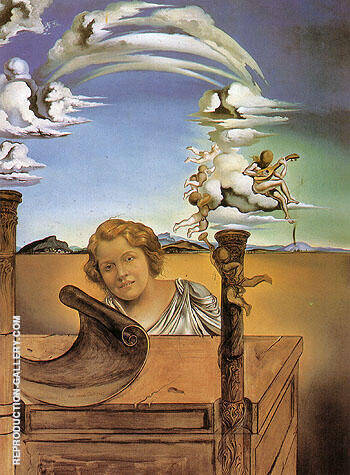 Melancholy 1942 By Salvador Dali