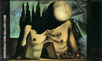 Stage set for Labyrinth 1941 By Salvador Dali - Oil Paintings & Art Reproductions - Reproduction Gallery