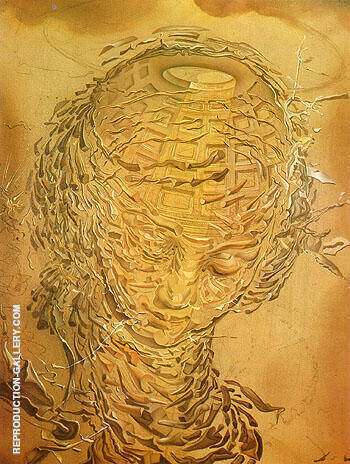Raphaelesque Head Exploding 1951 By Salvador Dali