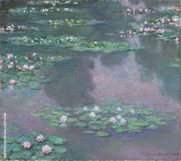 Nympheas 1905 Painting By Claude Monet - Reproduction Gallery