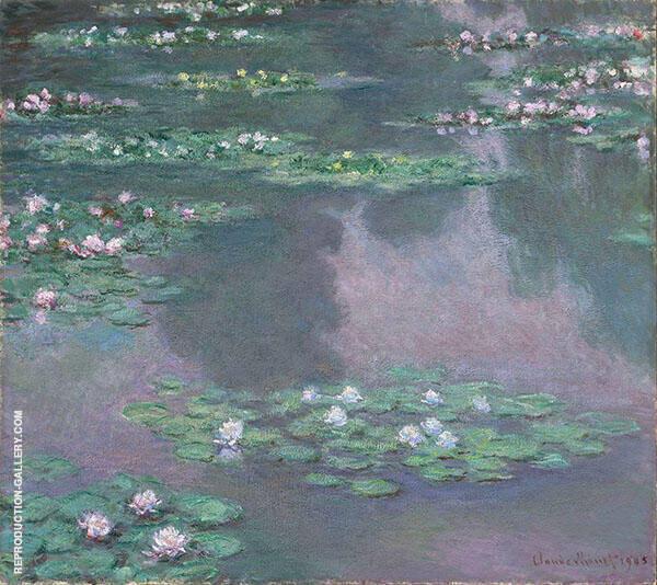 Nympheas 1905 By Claude Monet