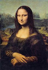 Mona Lisa Portrait of Lisa Gherardini, wife of Francesco del Giocondo By Leonardo da Vinci