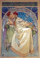 Princezna Hyancinta By Alphonse Mucha