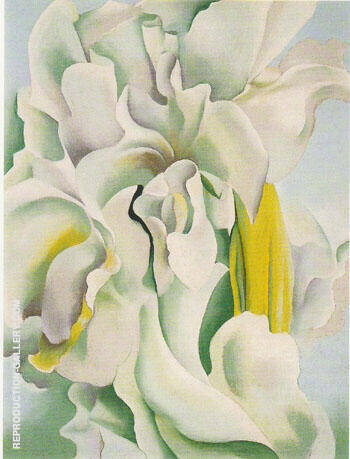 White Sweet Peas 1926 By Georgia O'Keeffe Replica Paintings on Canvas - Reproduction Gallery