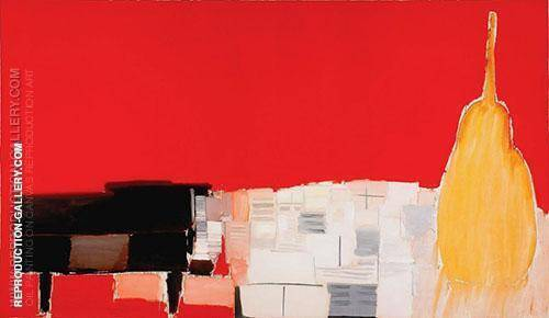 Le Grand Concert 1955 Painting By Nicolas De Stael - Reproduction Gallery