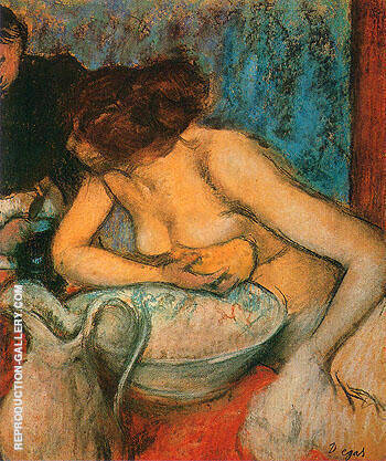 The Toilette 1897 By Edgar Degas Replica Paintings on Canvas - Reproduction Gallery