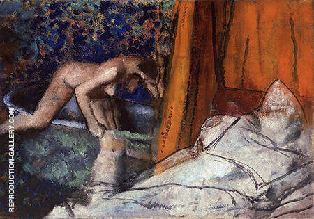 The Bath 1895 By Edgar Degas