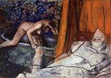 The Bath 1895 By Edgar Degas