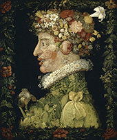 Spring 1573 By Giuseppe Arcimboldo