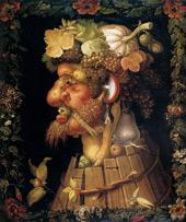 Autumn 1573 By Giuseppe Arcimboldo