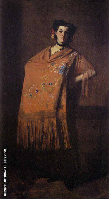 Spanish Dancing Girl 1904 By Robert Henri