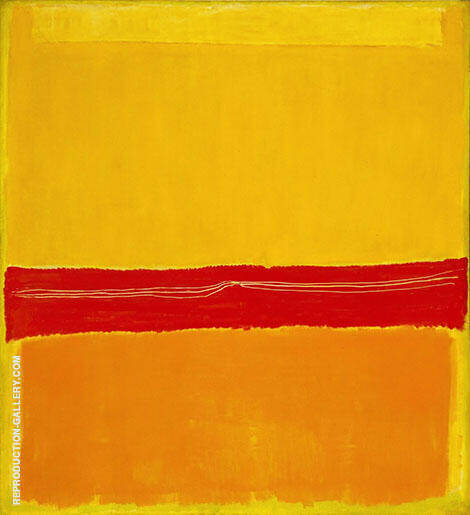 Untitled Number 5 No 22 1949 By Mark Rothko