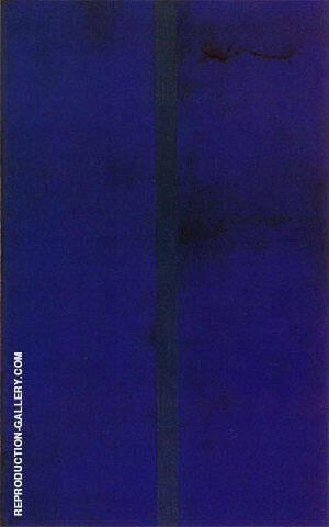 Onement V 1952 By Barnett Newman