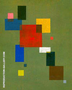 Reproduction of Thirteen Rectangles 1930 by Wassily Kandinsky | Oil Painting Replica On CanvasReproduction Gallery