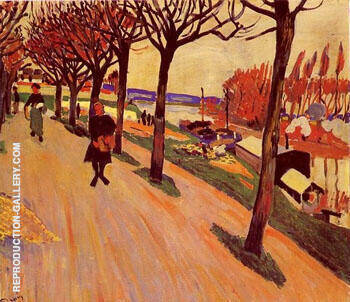 La Seine au Pecq 1904 By Andre Derain
