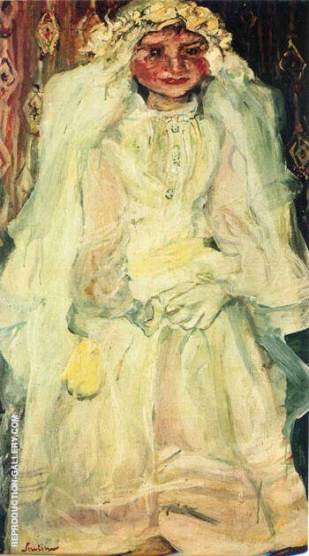 The Communicant The Bride 1925 By Chaim Soutine