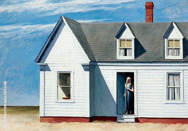 High Noon 1949 Painting By Edward Hopper - Reproduction Gallery