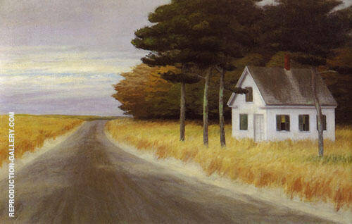 Solitude No 56 1944 By Edward Hopper Replica Paintings on Canvas - Reproduction Gallery