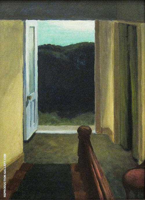 Stairway 1949 By Edward Hopper Replica Paintings on Canvas - Reproduction Gallery