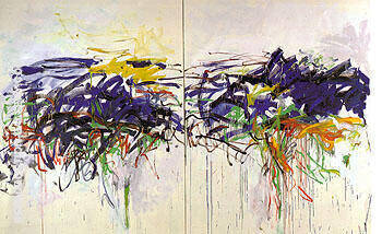 Untitled 1992 119 By Joan Mitchell Replica Paintings on Canvas - Reproduction Gallery