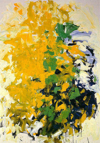 LArbre de Phyllis 1991 By Joan Mitchell - Oil Paintings & Art Reproductions - Reproduction Gallery