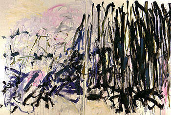 Reproduction of Tilleul 1992 by Joan Mitchell | Oil Painting Replica On CanvasReproduction Gallery