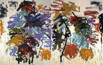 Wind c1990 By Joan Mitchell - Oil Paintings & Art Reproductions - Reproduction Gallery