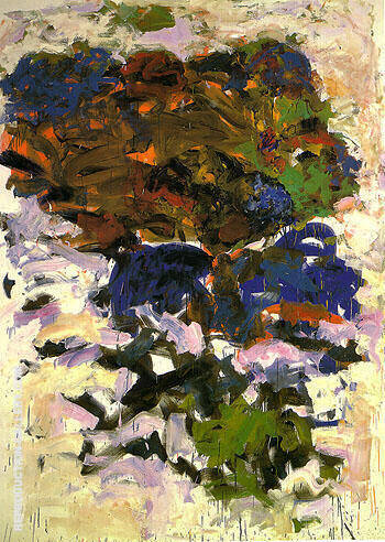 Yves 1991 By Joan Mitchell - Oil Paintings & Art Reproductions - Reproduction Gallery