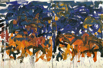 Untitled 1992 106 Painting By Joan Mitchell - Reproduction Gallery