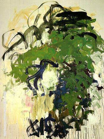 Reproduction of After April Bernie 1987 by Joan Mitchell | Oil Painting Replica On CanvasReproduction Gallery