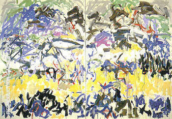 Reproduction of River 1989 by Joan Mitchell | Oil Painting Replica On CanvasReproduction Gallery