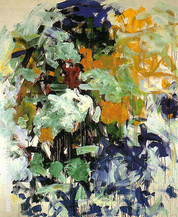 Reproduction of Chord VII 1987 by Joan Mitchell | Oil Painting Replica On CanvasReproduction Gallery