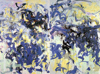 Reproduction of Lille I 1987 by Joan Mitchell | Oil Painting Replica On CanvasReproduction Gallery