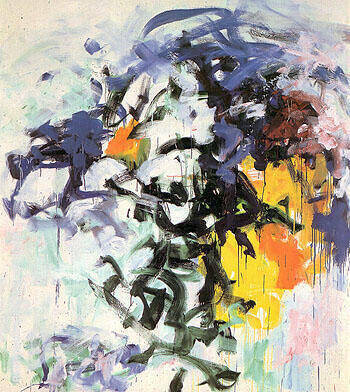Reproduction of Chord V 1986 by Joan Mitchell | Oil Painting Replica On CanvasReproduction Gallery
