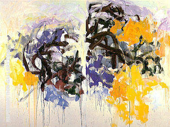 Lille V 1986 By Joan Mitchell - Oil Paintings & Art Reproductions - Reproduction Gallery