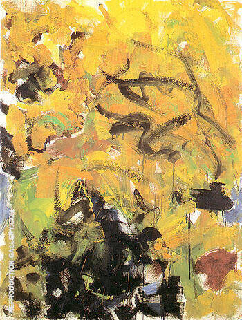 River IV 1986 Painting By Joan Mitchell - Reproduction Gallery