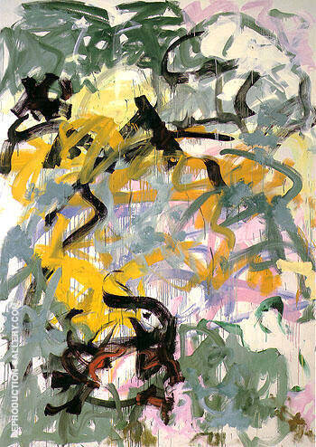 Before Again VI 1985 Painting By Joan Mitchell - Reproduction Gallery