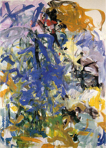 Reproduction Of Before Again Iv 1985 By Joan Mitchell