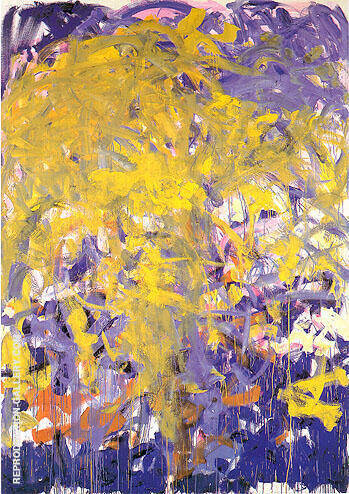 Before Again III 1985 By Joan Mitchell - Oil Paintings & Art Reproductions - Reproduction Gallery