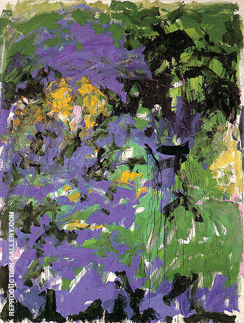 La Grande Vallee IV 1983 By Joan Mitchell Replica Paintings on Canvas - Reproduction Gallery